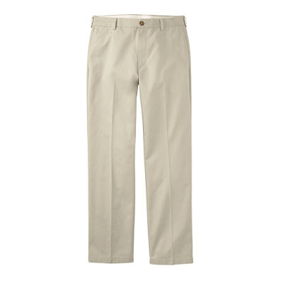 Double L� Chinos, Natural Fit Hidden Comfort Plain Front