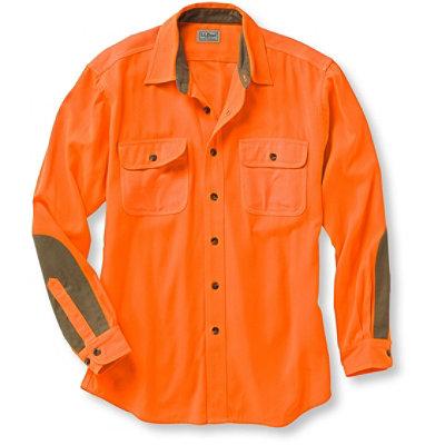 Classic Upland Shirt, Hunter Orange
