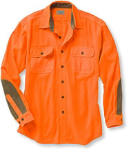 Men's Classic Upland Shirt, Hunter Orange