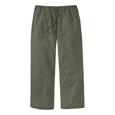 Sunwashed Canvas Pants, Cropped