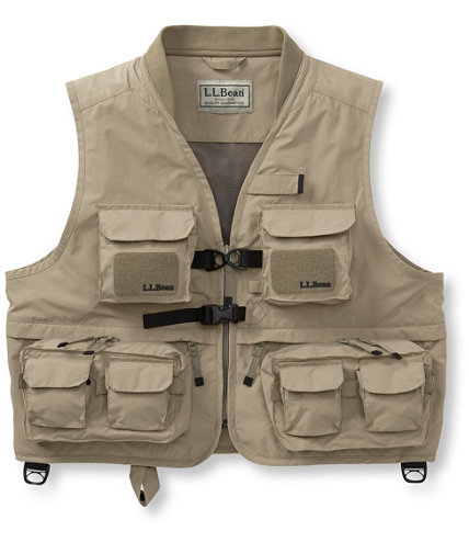 Women 39 s west branch fishing vest free shipping at l l bean for Womens fishing vest