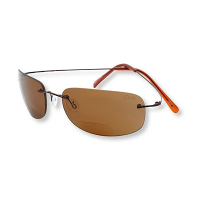 Polarized Rimless Bifocal Sunglasses