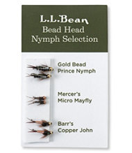 Six-Pack Fly Selection, Bead Head Nymphs