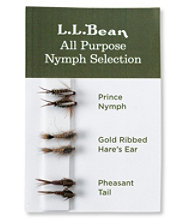 Six-Pack Fly Selection, All-Purpose Nymphs