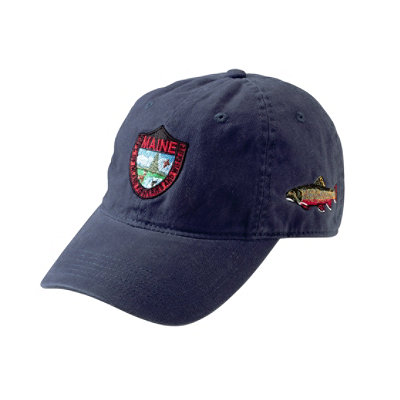 Maine Inland Fisheries and Wildlife Baseball Cap, Brook Trout