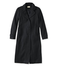 Classic Lambswool Polo Coat, Long