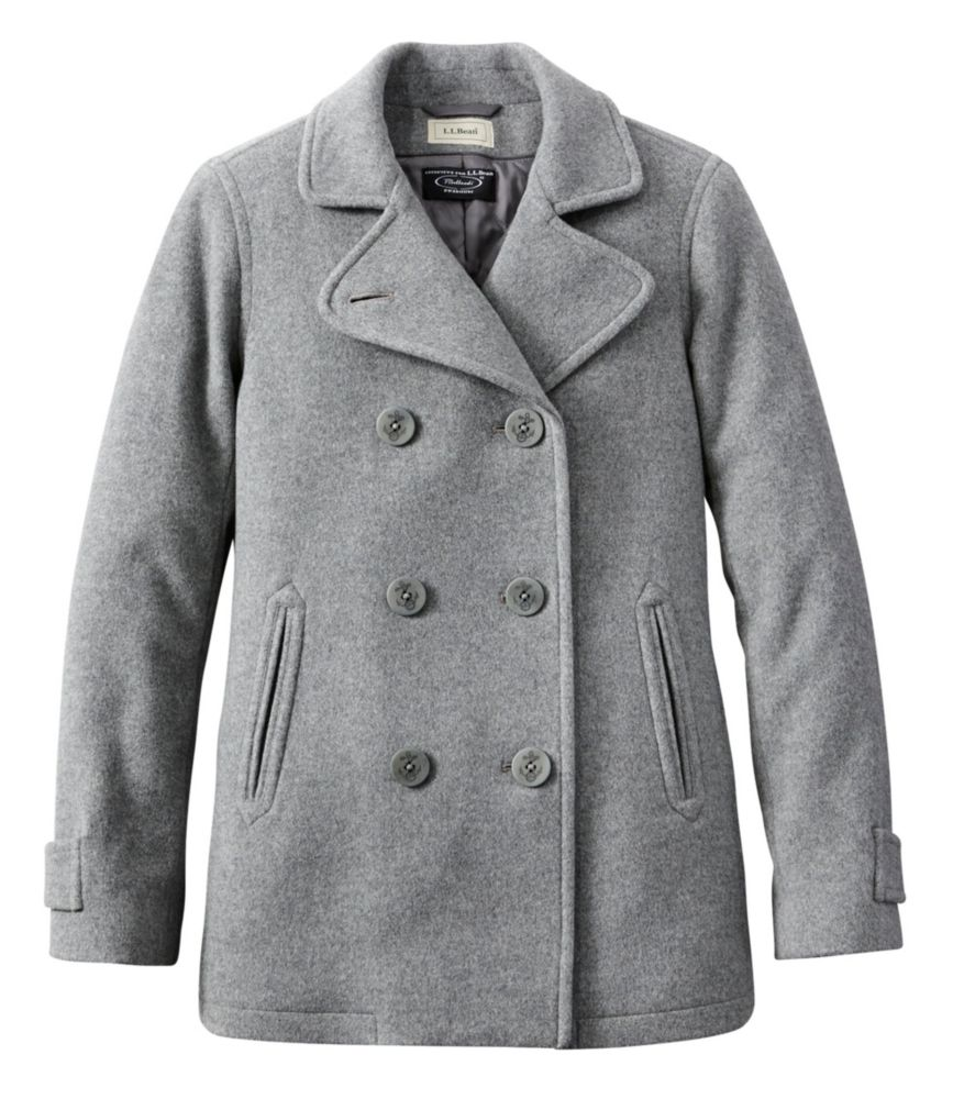 photo: L.L.Bean Classic Lambswool Peacoat