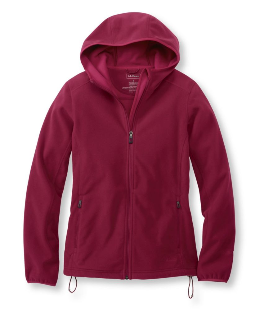photo: L.L.Bean Women's Wind Challenger Fleece, Hooded Jacket