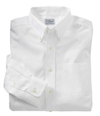 Men's Wrinkle-Free Pinpoint Oxford Cloth Shirt, Neck Sizes