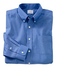 Wrinkle-Resistant Pinpoint Oxford Cloth Shirt, Traditional Fit