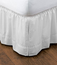 "Wrinkle-Resistant Bed Skirt, 17"" Drop"