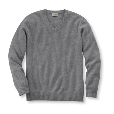 Cashmere Sweater, V-Neck