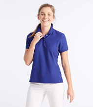 Women's Premium Double L Polo, Short-Sleeve