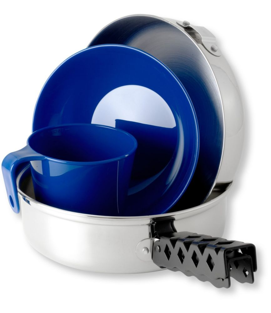 photo: GSI Outdoors Glacier Stainless Steel Mess Kit