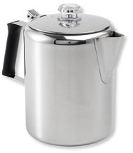 Glacier Stainless-Steel Percolator, 12-Cup