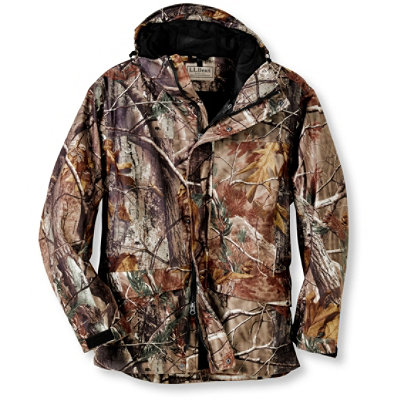 Men's Bean's Big Game System Basic Shell, Camo