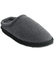 Men's Fleece Slipper Scuffs