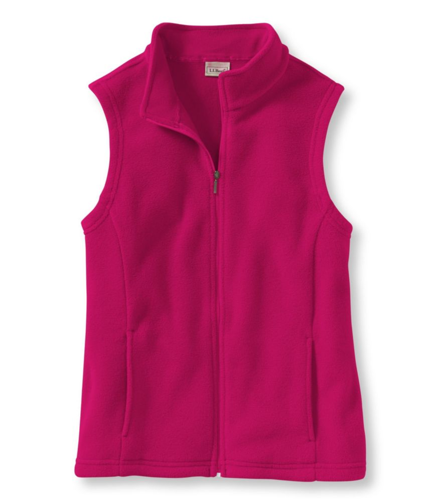 L.L.Bean Comfort Fleece, Mock-Turtleneck Vest
