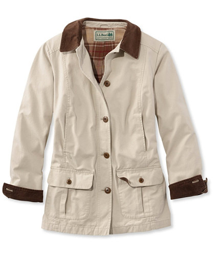 Women's Adirondack Barn Coat, Flannel-Lined | Free ...