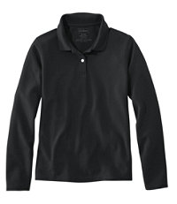 Premium Double L Polo, Long-Sleeve