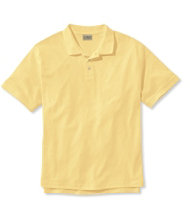Pima Cotton Polo, Banded Sleeve