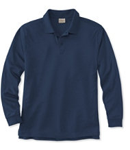 Pima Cotton Polo, Long-Sleeve