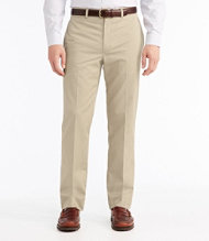 Wrinkle-Resistant Dress Chinos, Classic Fit Plain Front