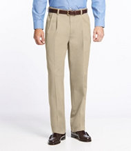 Wrinkle-Resistant Dress Chinos, Classic Fit Pleated