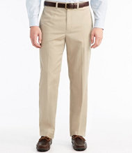 Wrinkle-Resistant Dress Chinos, Natural Fit Plain Front