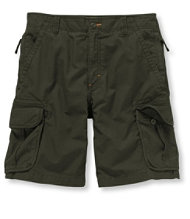 Allagash Cargo Shorts, Ripstop Cotton