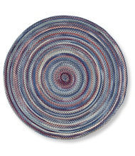 Bean's Braided Wool Rug, Round