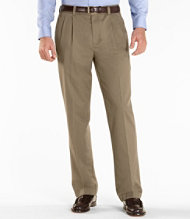 Wrinkle-Resistant Dress Chinos, Standard Fit Pleated