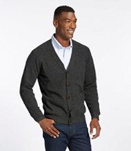 Men's Bean's Lambswool Cardigan