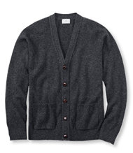 Bean's Lambswool Cardigan