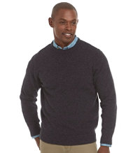 Bean's Lambswool Sweater, Crewneck