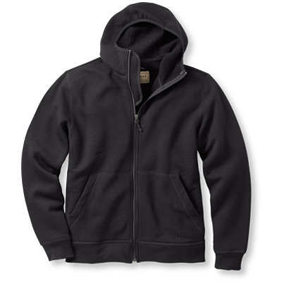 Merino Wool Hooded Sweatshirt
