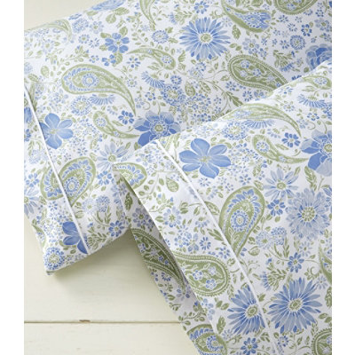 Wrinkle-Resistant Pillowcases, Floral Set of Two
