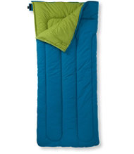 Camp Sleeping Bag, Kids' Cotton-Blend-Lined 40�