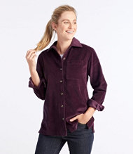 Women's Comfort Corduroy Big Shirt