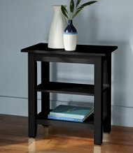 Painted Cottage Two-Shelf Side Table