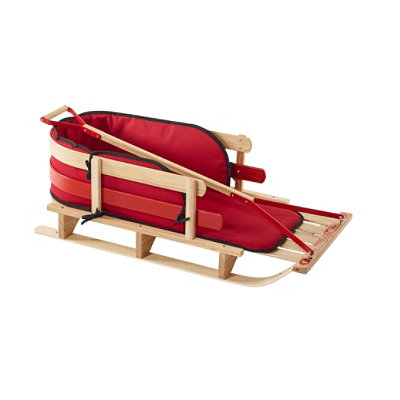 Kids' Pull Sled and Cushion Set with Pull Handle, Large