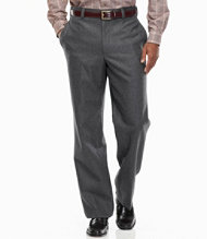Wrinkle-Resistant Three-Season Washable Wool Pants