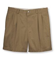 Double L Chino Shorts, Classic Fit Pleated 6