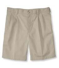 Double L Chino Shorts, Classic Fit Pleated 8