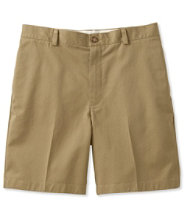 Double L Chino Shorts, Classic Fit Plain Front 8