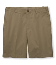 Double L Chino Shorts, Hidden Comfort Waist Plain Front 8