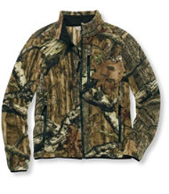 Men's Hunter's Trail Model Fleece Jacket, Camo