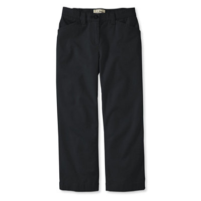 Easy Stretch Pants, Twill Cropped