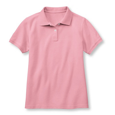 Premium Double L� Polo, Relaxed Fit Short-Sleeve