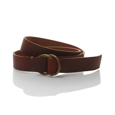 Signature Men's Handsewn O-Ring Belt
